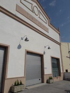 Fachada de las instalaciones del tanatorio de Fernán Núñez